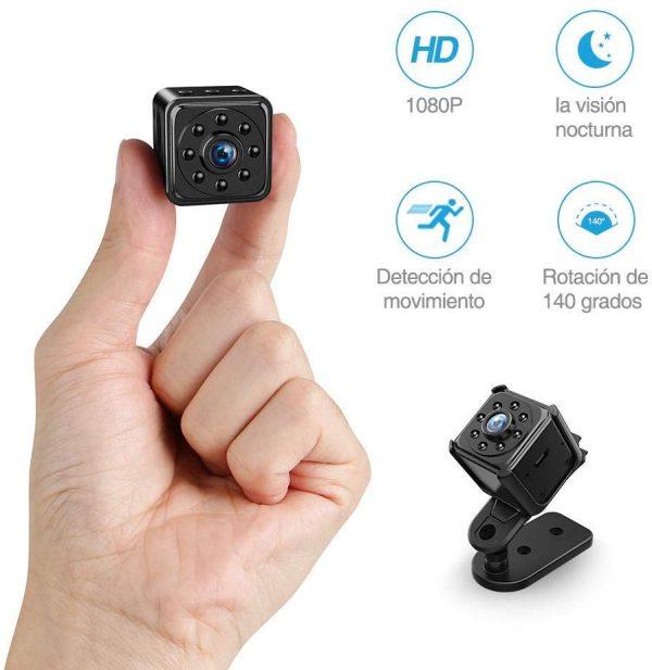 Camera 128GB L23 1080P 2MP Lens 2-Hour Recorrding 30 FPS 140°Wide Angle