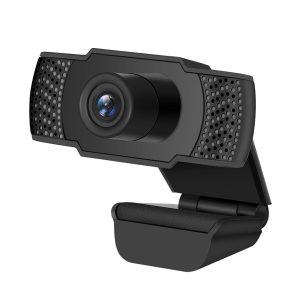 Webcam Desktop Laptop Computer PC Camera USB 1080P HD Built in Microphone