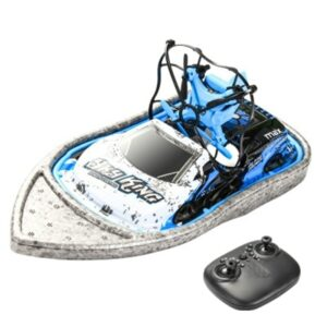Outdoor Play Toy 2.4G Remote Control RC Speedboat & Aircraft & Car 3 to 1 Toy Model Land & Sea & Air play 3D Flips headless mode
