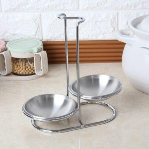Stainless Steel Kitchen Utensil Storage Rack Cutlery Organizer Gadgets Container Holder Accessories Shelf