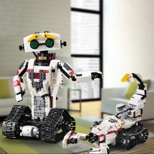 Remote Walkable Robot Building DIY Blocks Creative Robot Blocks Children'S Toys Educational Toys Bricks Remote Control Toy