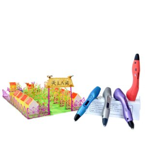 FUNWELL® 3D Printing Pen V3 With OLED Screen ABS/PLA Speed Adjustable Printer Pen For Children