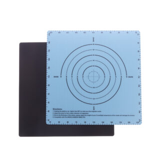 220*220mm Flexible A+B Two-Layer Magnetic Heated Bed Sticker with Scale for 3D Printer